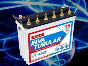 UPS Battery Tubular Exide 110ah IT400